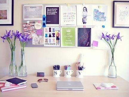 How to Feng Shui Your Home Office with Colors Plants Desk